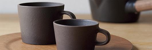 4th-marketの「Kuori」のマグカップとデミカップ