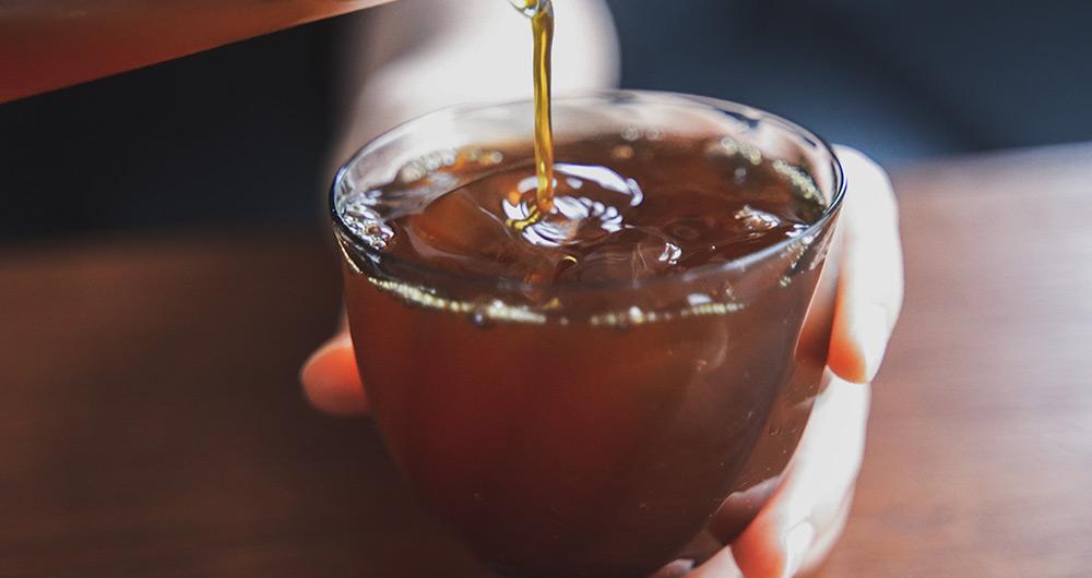 コーヒー アイスコーヒー用にドリップする 深煎り