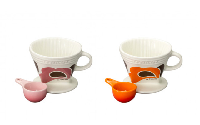 Le Creuset(ル・クルーゼ) ピーコックパレット コーヒー・ドリッパー&スプーン
