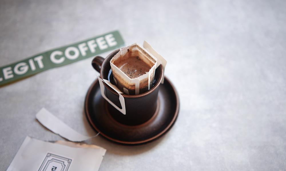 【韓国・釜山】LEGIT COFFEE ドリップバッグコーヒー