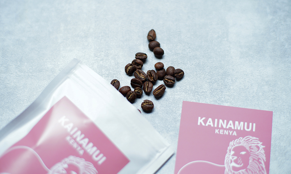 LIGHT UP COFFEE  ケニア『KAINAMUI』