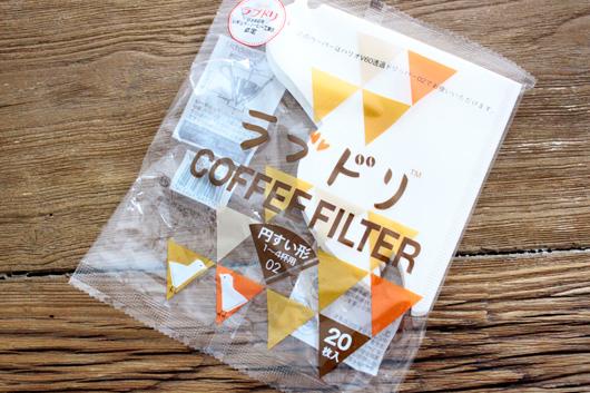 ラブドリ コーヒーフィルター