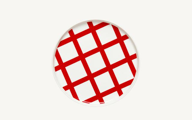 marimekko(マリメッコ) Spalje Red プレート