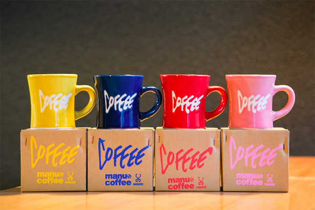 福岡の人気コーヒー店『manu coffee』×『マルヒロ』のオリジナルマグカップ