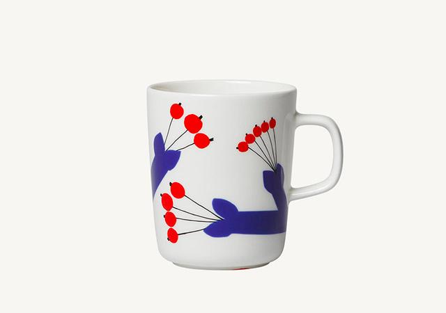 marimekko(マリメッコ)Pakkanen(パッカネン/霜)マグカップ