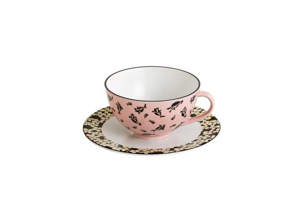 マルニ × 有田焼 ティーカップ&ソーサー