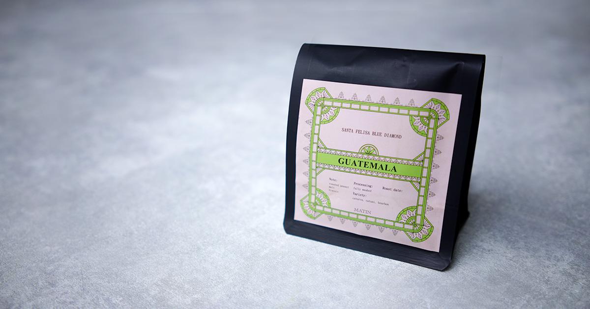 【韓国】Matin Coffee Roasters  グアテマラ『Santa Felisa』