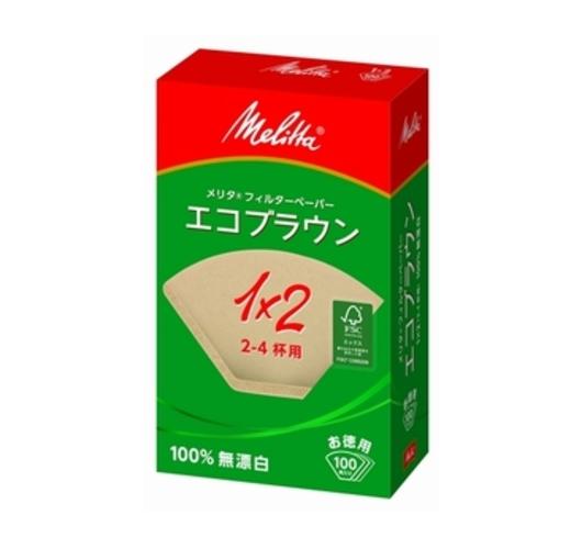 melitta(メリタ)  コーヒーフィルターペーパー「エコブラウン」
