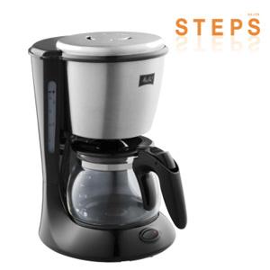 Melitta(メリタ)の新しいコーヒーメーカー  『STEPS(ステップス)』