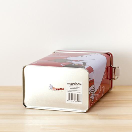 フィンランドMartinex(マルティネックス)社製ムーミンの保存缶 レッド