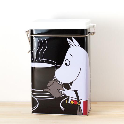 フィンランドMartinex(マルティネックス)社製ムーミンの保存缶 ブラック