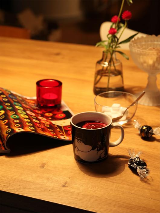2013年12月生産終了  ARABIA(アラビア)ムーミンパパのマグカップ