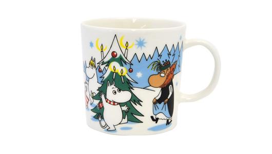 【2013年冬季限定】ARABIA(アラビア)ムーミンマグカップ「森のクリスマスツリー」
