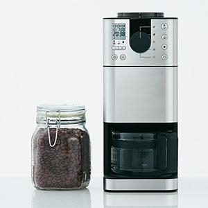 無印良品から、『豆から挽けるコーヒーメーカー 』新登場!
