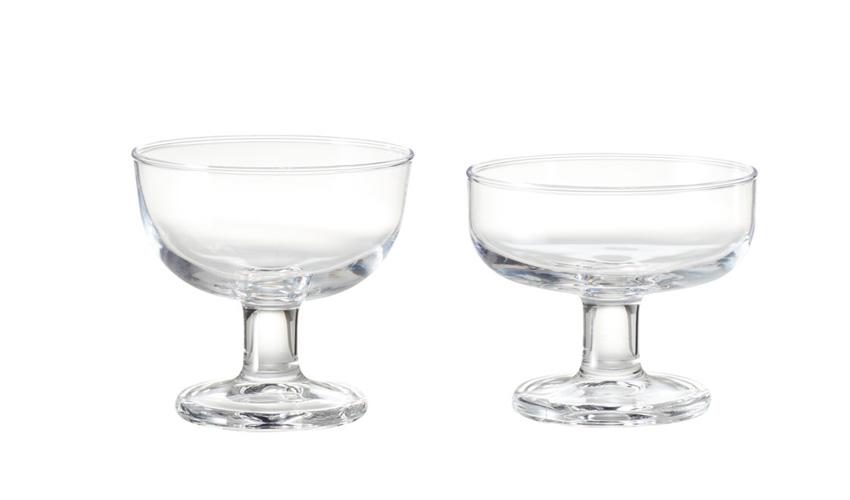無印良品 ソーダガラス デザートグラス