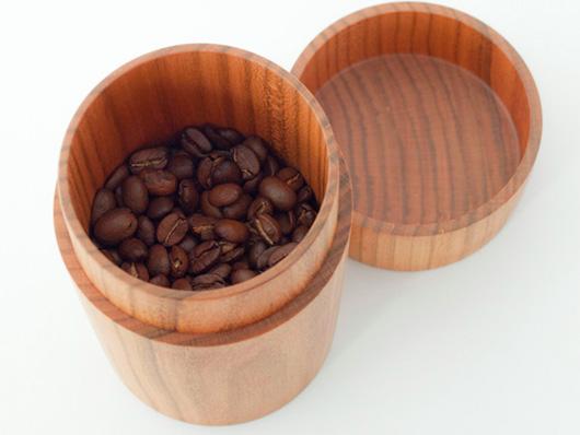necco(ネッコ)オリジナル コーヒー豆入れ(ナチュラル)
