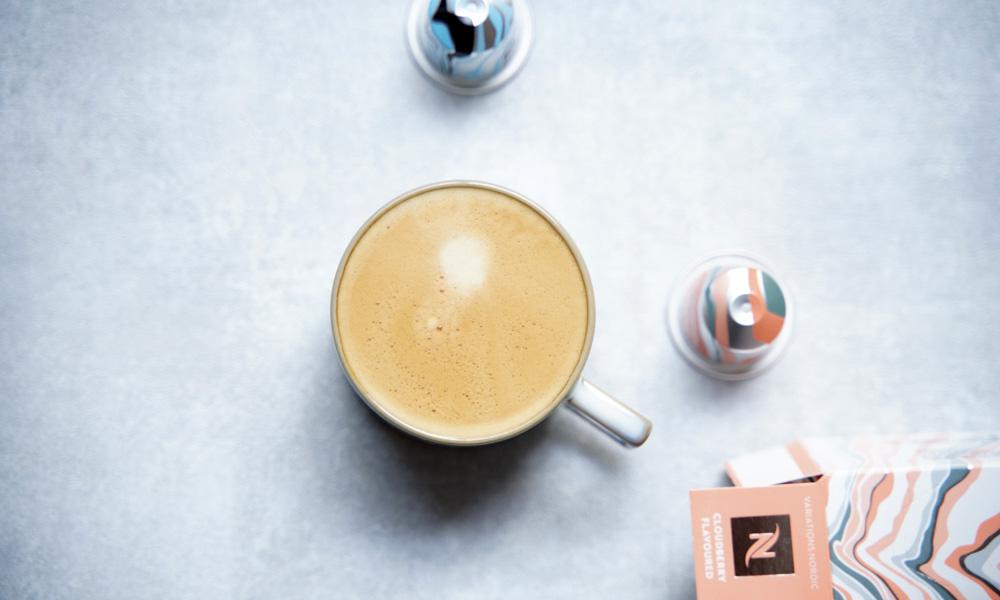 【Nespresso】数量限定ノルディック・ブラックとクラウドベリー・フレーバー