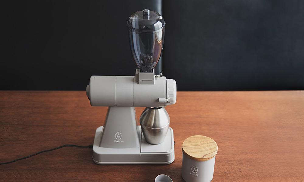Kalita(カリタ)コーヒーグラインダー NEXTG(ネクストジー) 北海道限定カラー グレー