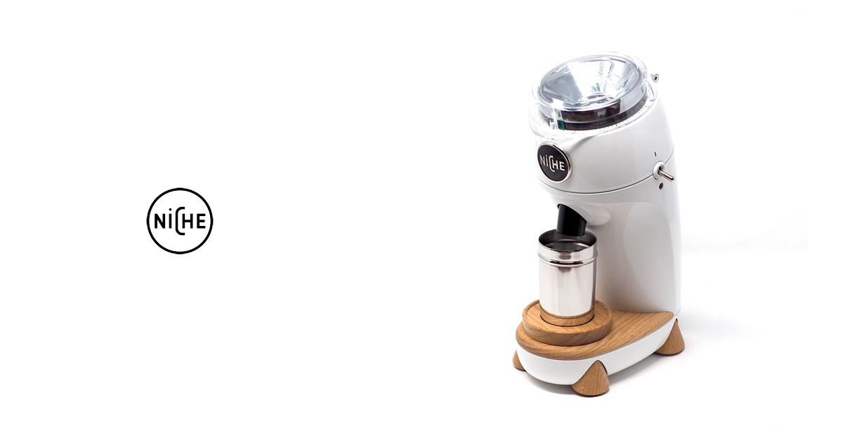 イギリス発、革新的コーヒーグラインダー  【Niche Zero Coffee Grinder】が日本上陸!