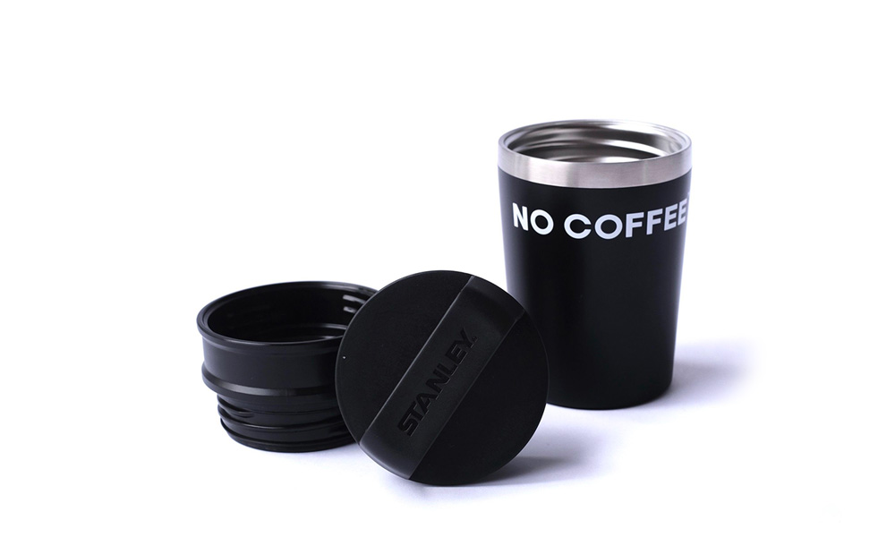 NO COFFEE × STANLEY 真空マグ 0.23l