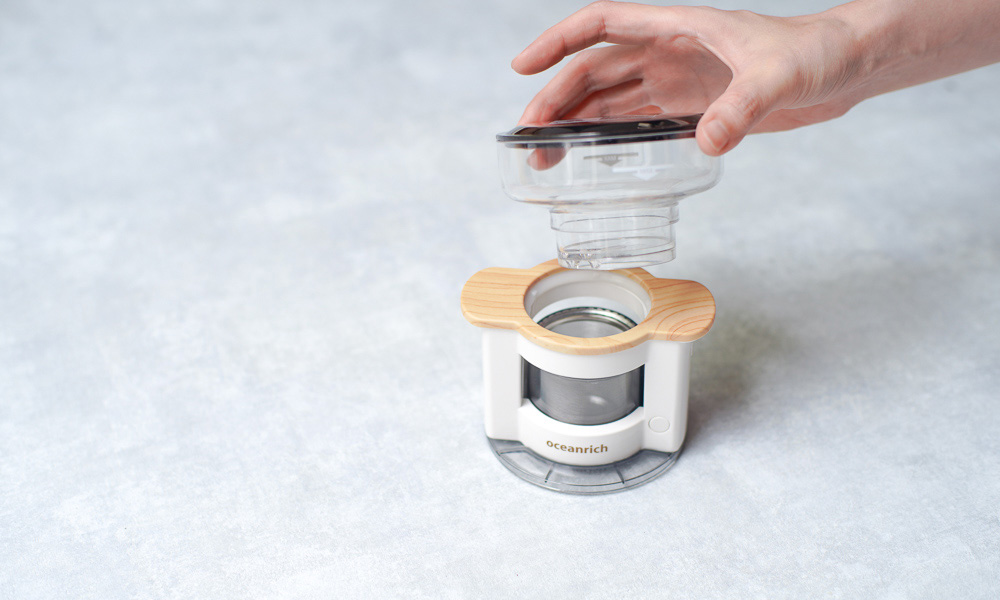 oceanrich(オーシャンリッチ)の自動ドリップ・コーヒーメーカー