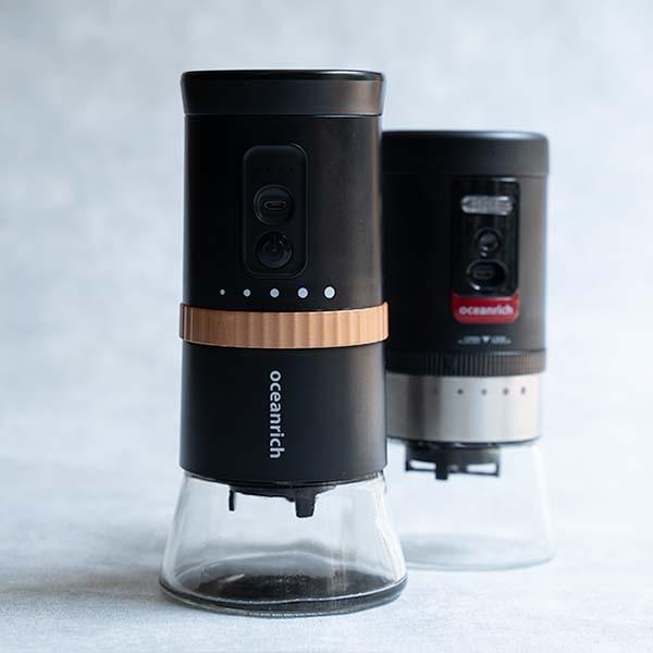 oceanrichの自動コーヒーミルが進化して、G2となって新登場!