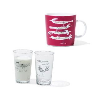 ACTUS(アクタス)× Olle Eksell(オーレ・エクセル)コラボ マグカップとグラス
