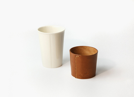 【ONE KILN × RHYTHM】  Leather Cup レザーカップ