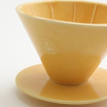 ONE KILN CERAMICS コーヒードリッパー 黄色