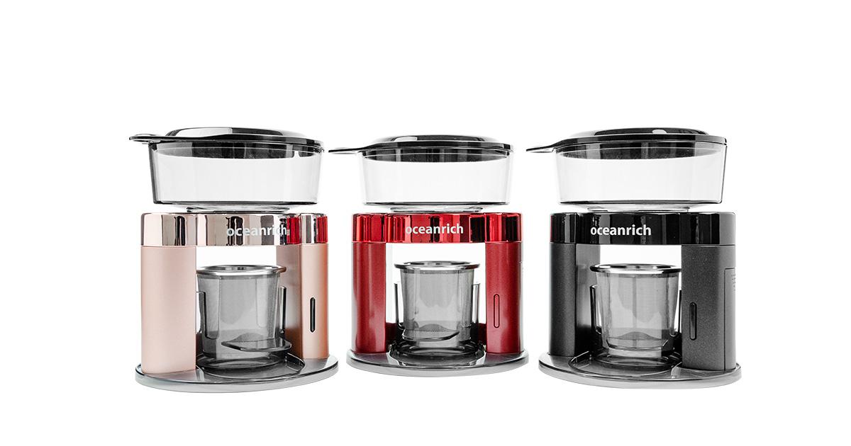 オーシャンリッチの自動ハンドドリップコーヒーメーカー