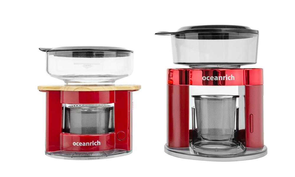 オーシャンリッチの自動ハンドドリップコーヒーメーカー 容量アップ
