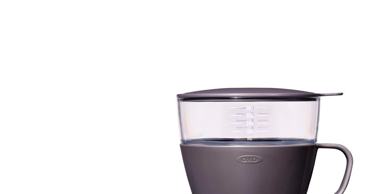 OXO(オクソー) オートドリップコーヒーメーカー チャコール