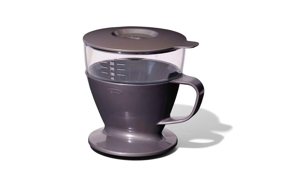 オートドリップコーヒーメーカー チャコール