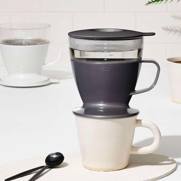 OXO(オクソー)のオートドリップコーヒーメーカーに、新色チャコール登場!