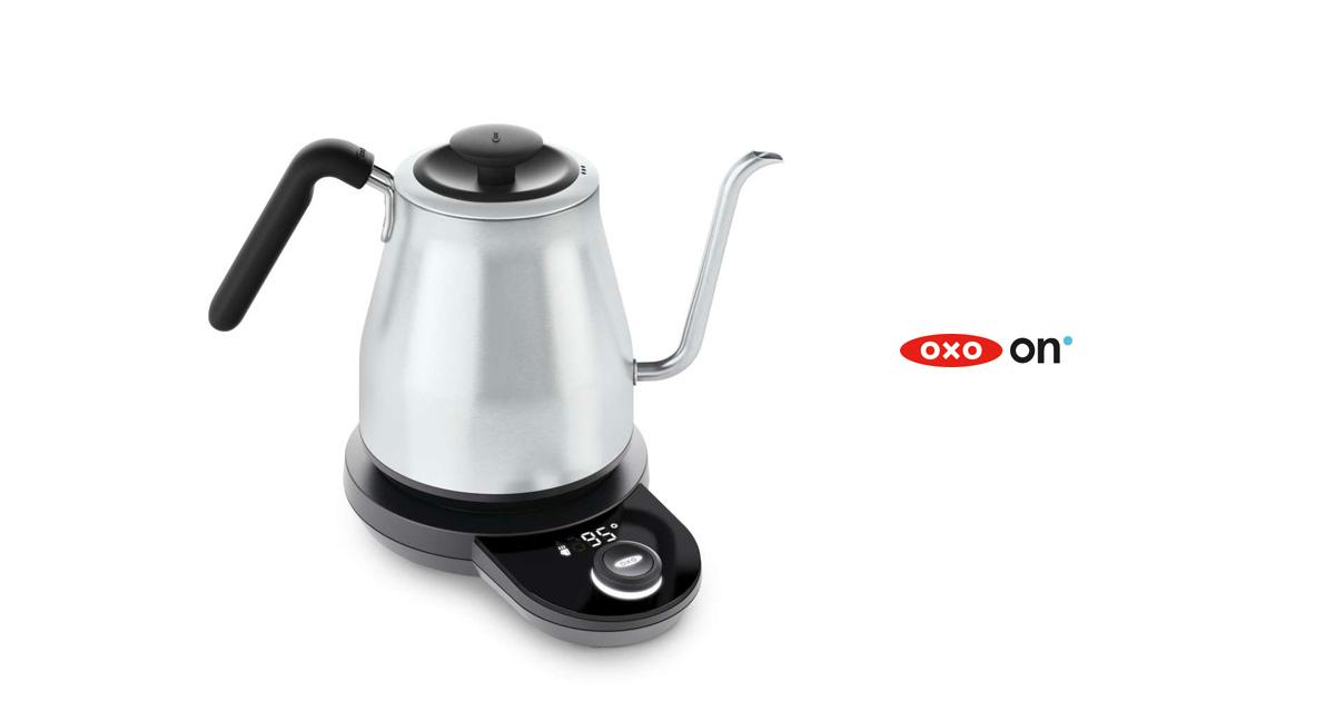 OXO(オクソー)温度調整&タイマー機能付 ドリップケトル