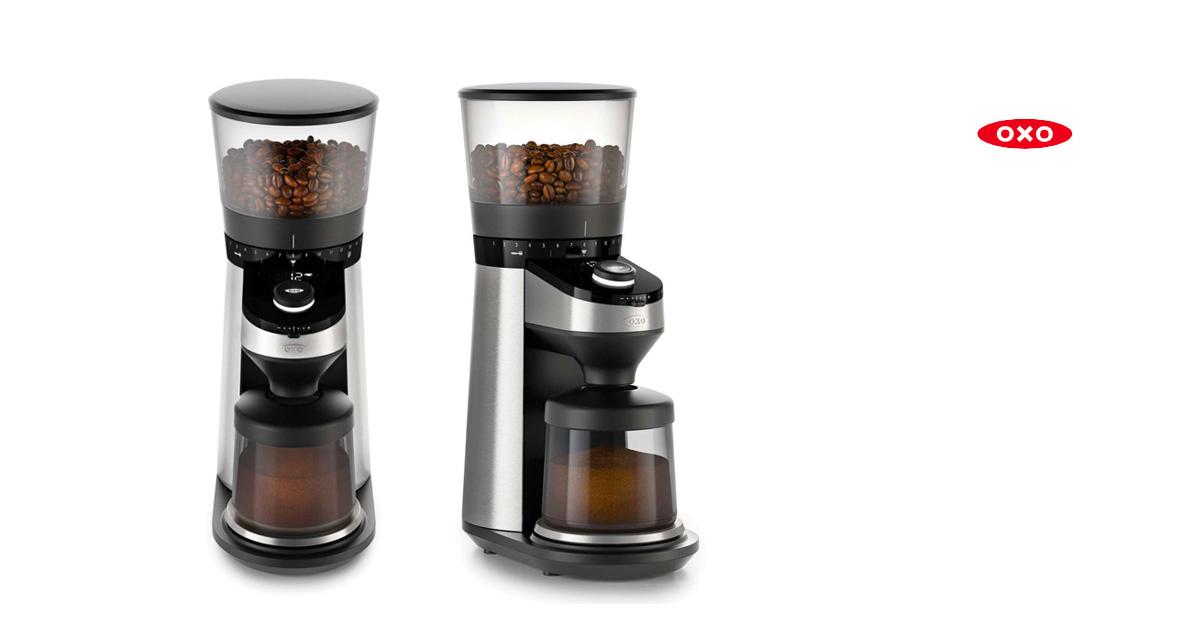 OXO(オクソー)スケール付コーヒーグラインダー バリスタブレイン
