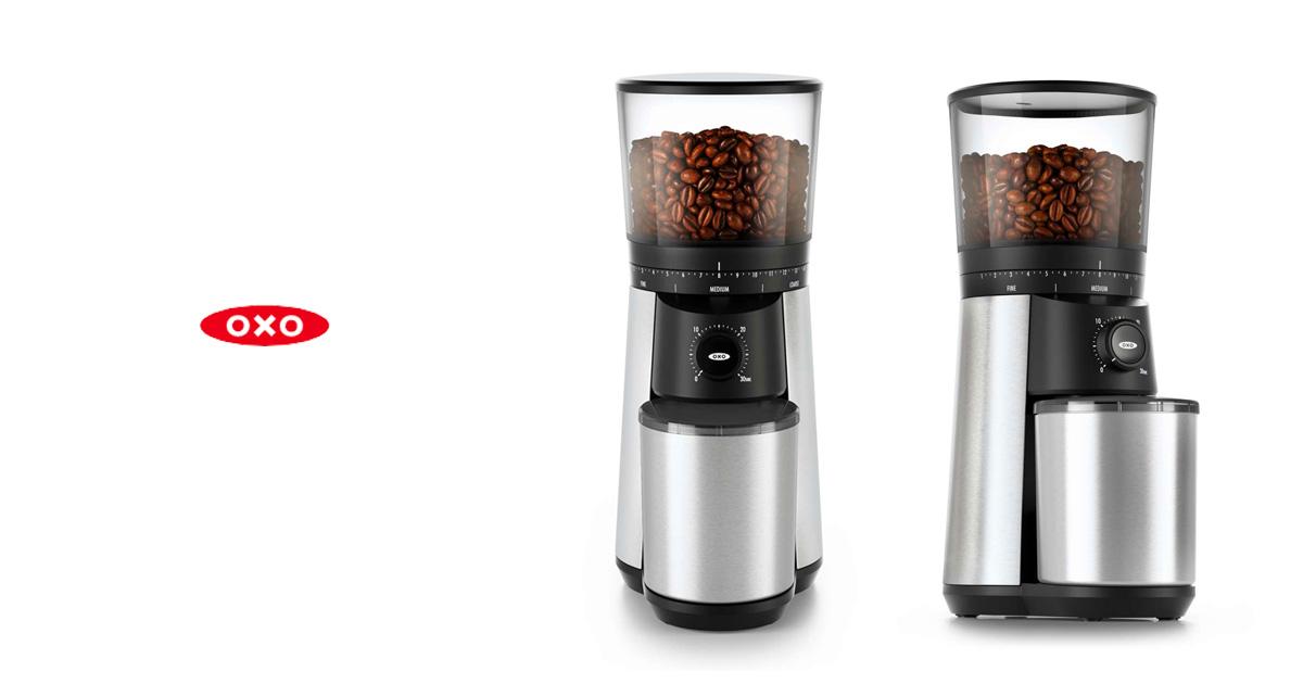 OXO(オクソー)から新しい電動ミル  『タイマー式コーヒーグラインダー』が登場!