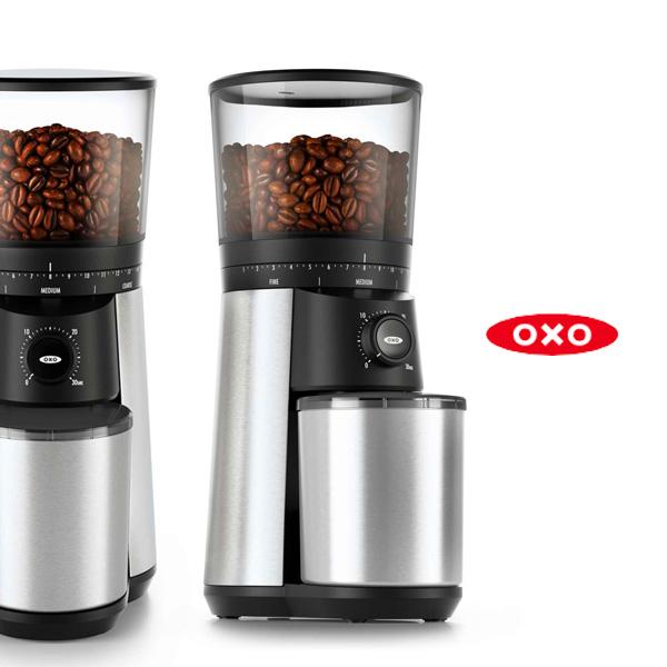 OXO(オクソー)から、新しい電動ミル『タイマー式コーヒーグラインダー』が登場!