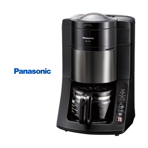 パナソニックの沸騰浄水コーヒーメーカー、『デカフェ豆コース』新搭載でリニューアル!