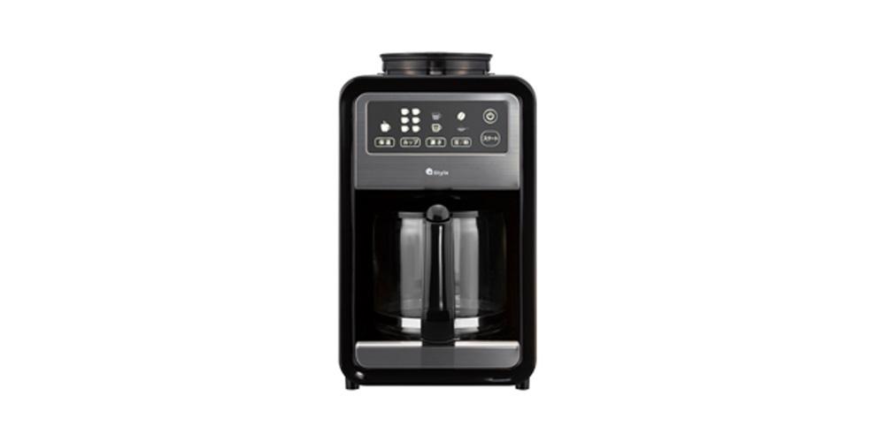 スマート家電【+Style】オリジナルのスマート全自動コーヒーメーカー
