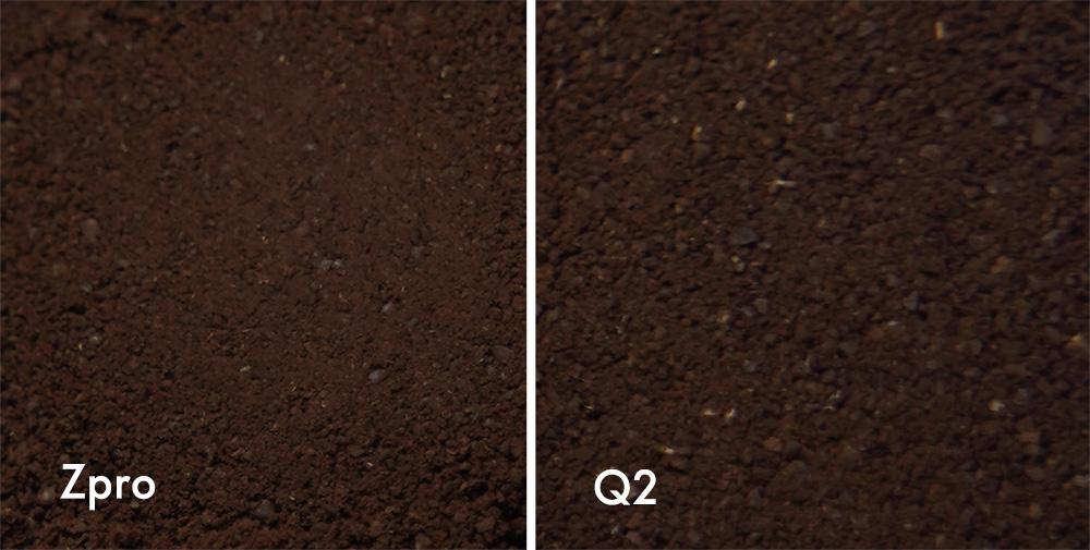 1Zpresso ZproとQ2モデル エスプレッソ挽き