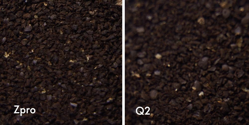 1Zpresso ZproとQ2モデル 粗挽き