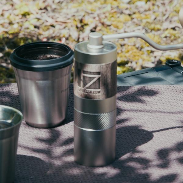 アウトドアに最適な【1Zpresso Q2モデル コーヒーセット】が最高。