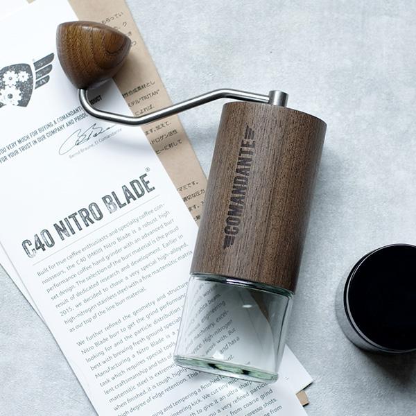 COMANDANTE(コマンダンテ)のコーヒーグラインダー、  やっぱり最高【レビュー】
