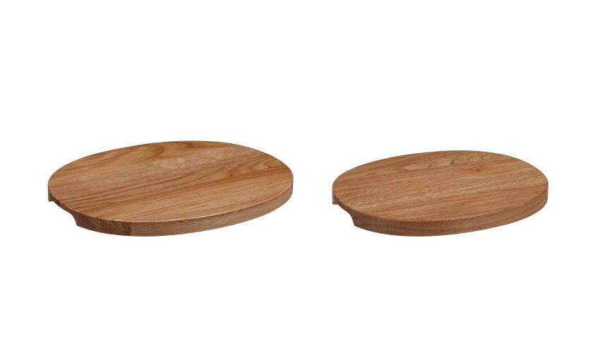 ラーミ 木製サービングトレイ