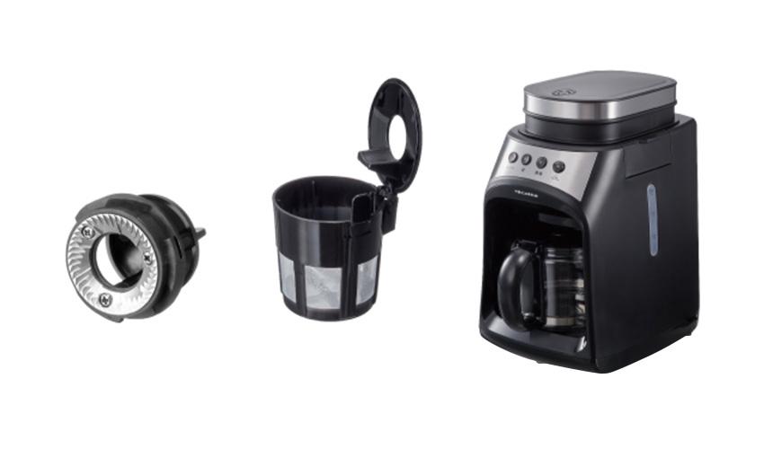 recolte レコルト グラインド & ドリップコーヒーメーカー フィーカ