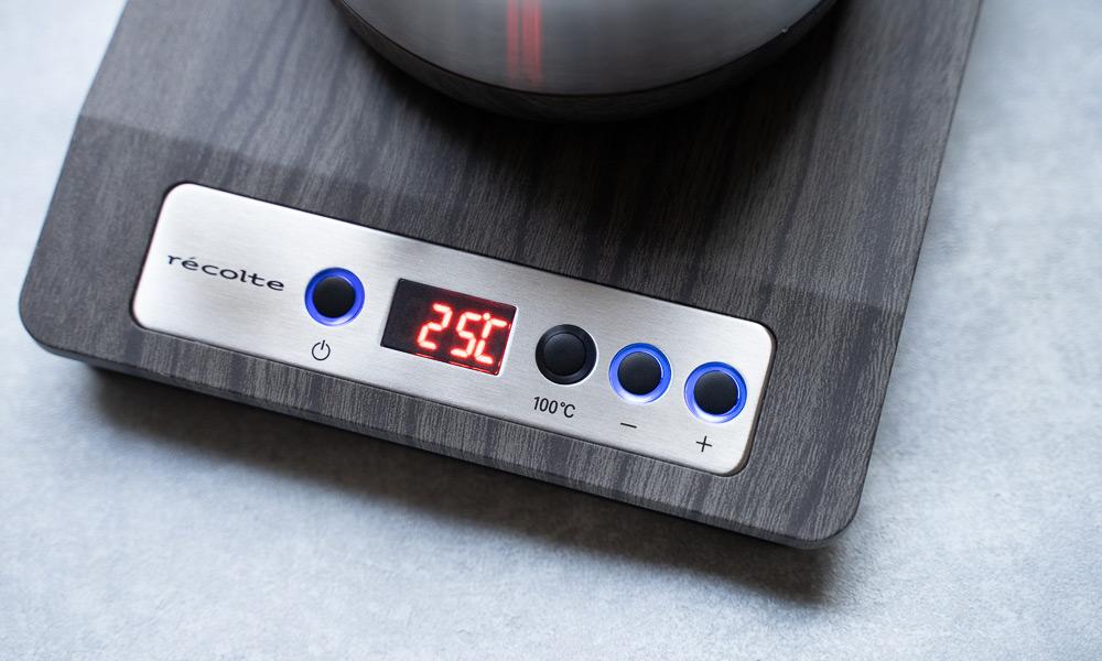 レコルトの温度調節ドリップケトル