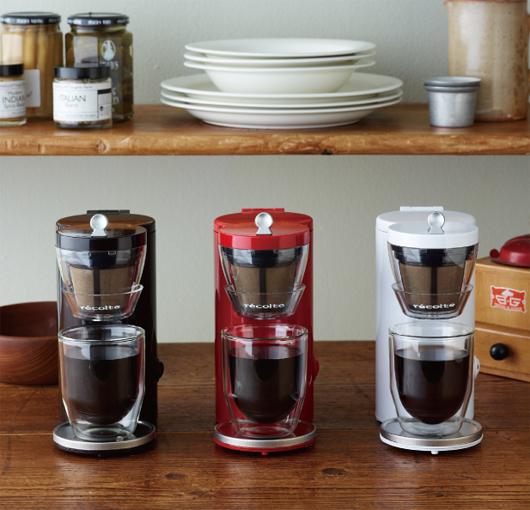 recolte(レコルト)の1カップコーヒーメーカー  SOLO KAFFE(ソロカフェ)