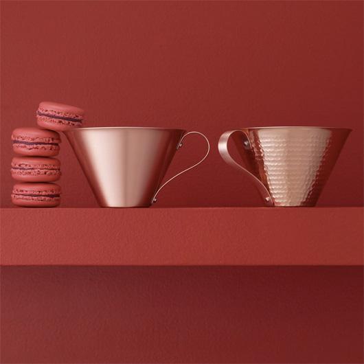 RED & WHITE のアイスコーヒーカップ