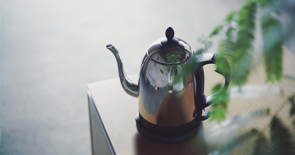 ロングセラーの理由がわかる。   ラッセルホブスのカフェケトルはやっぱりいい。